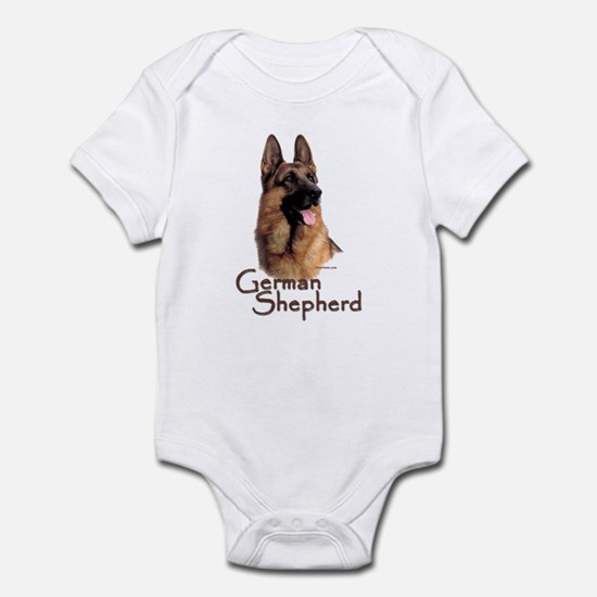 German Shepherd Dog-1 Infant Bodysuit