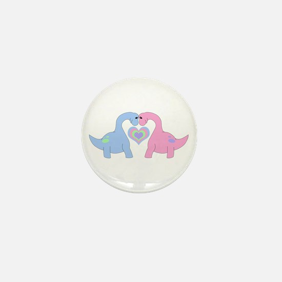 Adoring Apatosaurus Magnets Mini Button