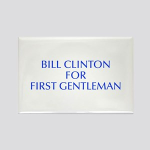 Bill Clinton for First Gentleman-Opt blue 550 Magn