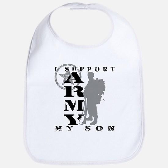 I Support Son 2 - ARMY Bib