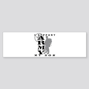 I Support Son 2 - ARMY Bumper Sticker