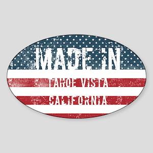 Made in Tahoe Vista, California Sticker