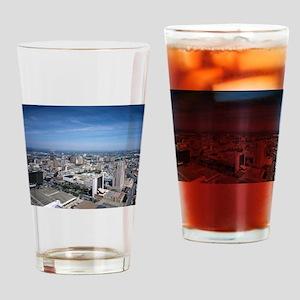 San Antonio Texas Skyline Drinking Glass