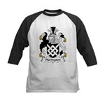 Harington Family Crest Kids Baseball Jersey