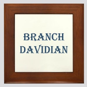 Branch Davidian Framed Tile