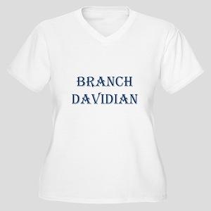 Branch Davidian Women's Plus Size V-Neck T-Shirt