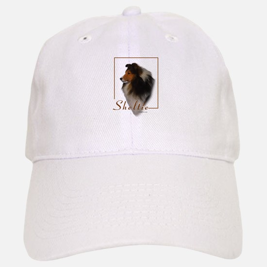 Sheltie-1 Baseball Baseball Cap