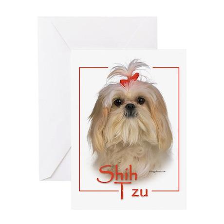 Shih Tzu-1 Greeting Card