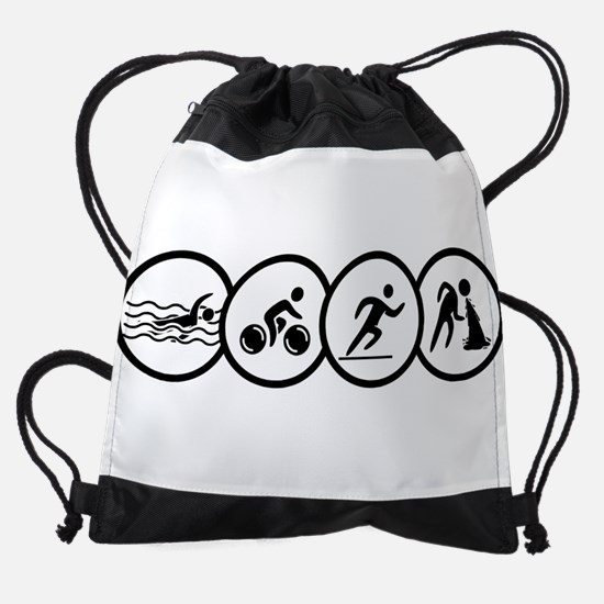 triathlon Drawstring Bag