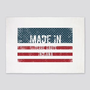 Made in Terre Haute, Indiana 5'x7'Area Rug