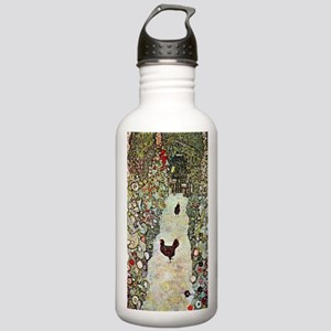 Garden Path with Chick Stainless Water Bottle 1.0L