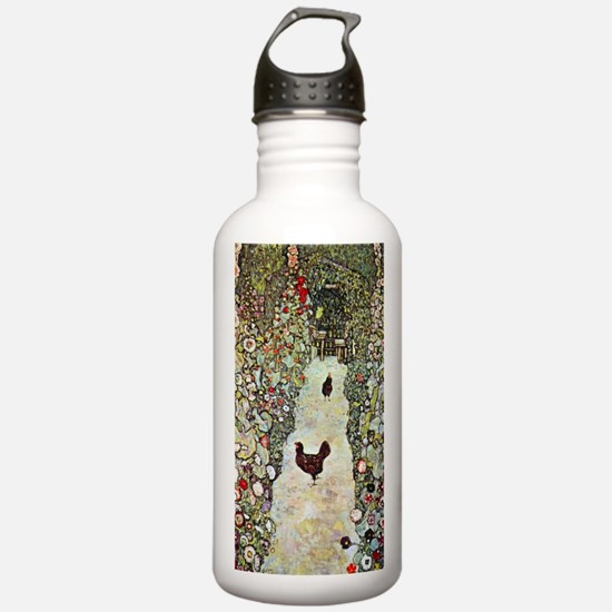 Garden Path with Chick Water Bottle