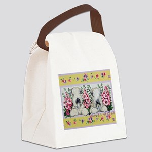 Wheaten Terrier Spring Canvas Lunch Bag