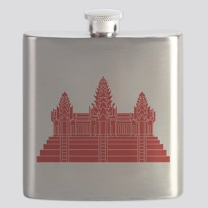 Angkor Wat Ver.2.0 Khmer Temple Flask