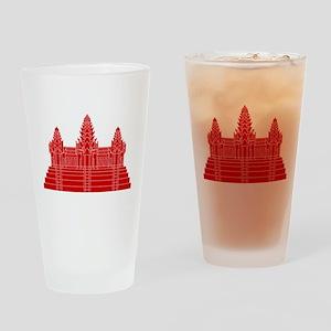 Angkor Wat Ver.2.0 Khmer Temple Drinking Glass