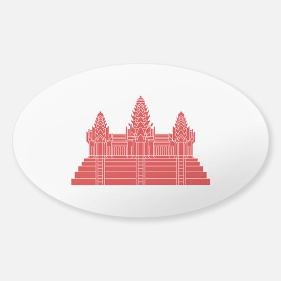 Angkor Wat Ver.2.0 Khmer Temple Decal