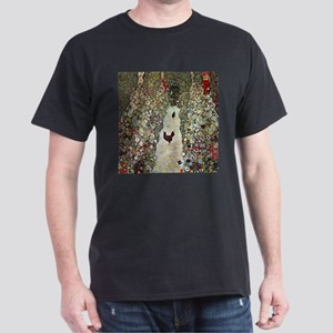 Garden Path with Chickens by Klimt T-Shirt