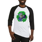 Reduce Reuse Recycle Earth Baseball Jersey