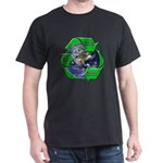 Reduce Reuse Recycle Earth Dark T-Shirt