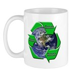 Reduce Reuse Recycle Earth Mug