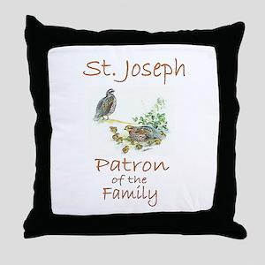 St. Joseph - Family Throw Pillow