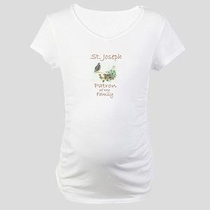 St. Joseph - Family Maternity T-Shirt