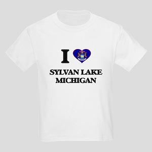 I love Sylvan Lake Michigan T-Shirt