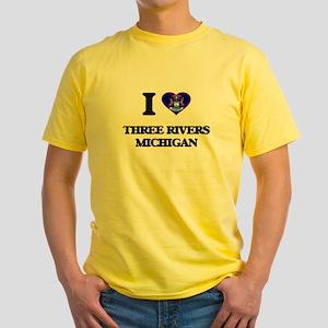 I love Three Rivers Michigan T-Shirt