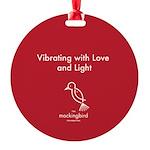 The Mockingbird Foundation More Round Ornament