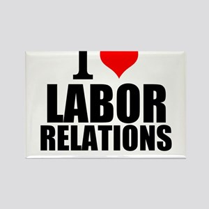 I Love Labor Relations Magnets