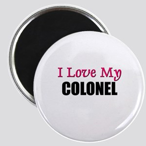 I Love My COLONEL Magnet