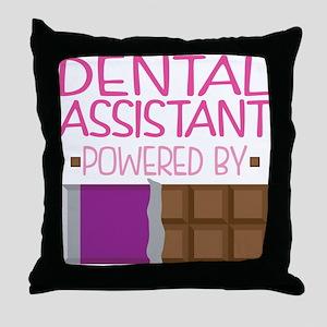 Dental Assistant Throw Pillow