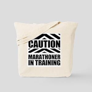 Marathoner In Training Tote Bag