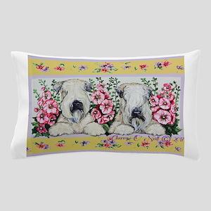Wheaten Terrier Spring Pillow Case