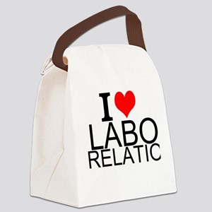 I Love Labor Relations Canvas Lunch Bag