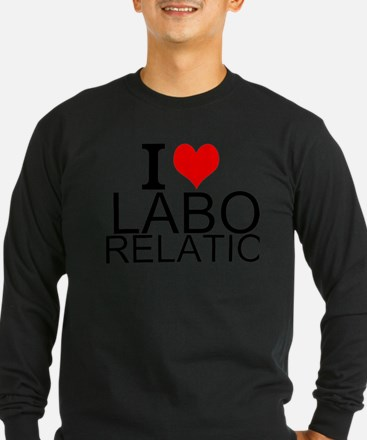 I Love Labor Relations Long Sleeve T-Shirt