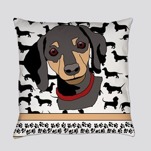 Dachshunds Everyday Pillow