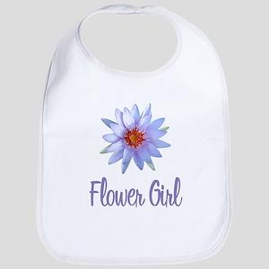 Lotus Flower Girl Bib