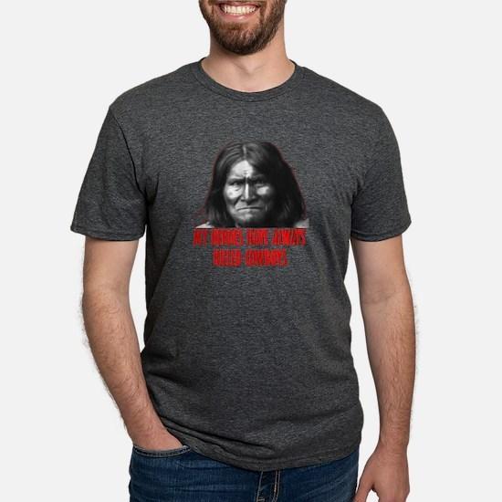 Geronimo's Heroes Black T-Shirt