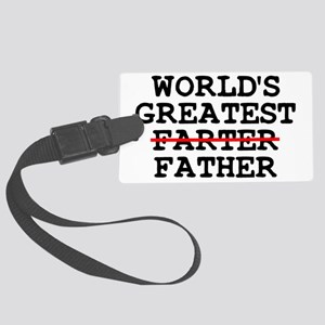 World's greatest farter father Luggage Tag