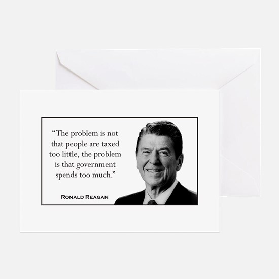 Ronald Reagan Quote #3 Greeting Cards