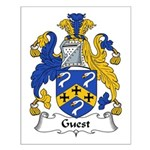 Guest Family Crest Small Poster