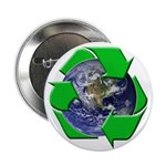 Earth Day Recycle Button