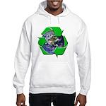 Earth Day Recycle Hooded Sweatshirt
