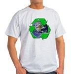 Earth Day Recycle Light T-Shirt