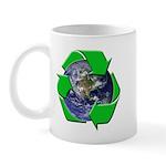 Earth Day Recycle Mug