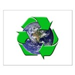 Earth Day Recycle Small Poster