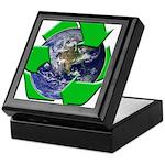 Earth Day Recycle Keepsake Box