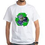 Earth Day Recycle White T-Shirt