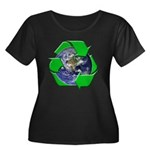 Earth Day Recycle Women's Plus Size Scoop Neck Dar